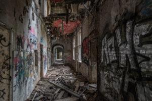 Berlin, Germany, Weissensee, abandoned, Children's hospital, ghost, graffiti, street, art, secret, place, turism