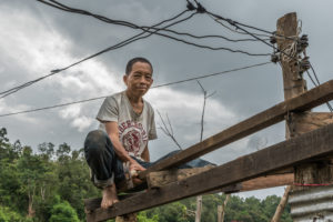 North, Thailand, Monk, Workaway, building, roof, wood, local, mindful farm, farmer, master, meditation, buddhism, monk.