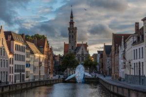 Brugge, bruges, sunset, square, medieval, city, whale, plastic, pollution, ocean, landscape, top, place, visit
