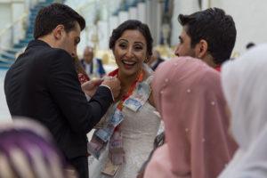 Kurdish, wedding, tradition, turkish, liras, woman, smile, celebration