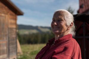 Poland, Murzasichle, Portrait, old, woman, polish, girl, tradition