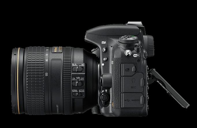 Nikon, D750, Side left