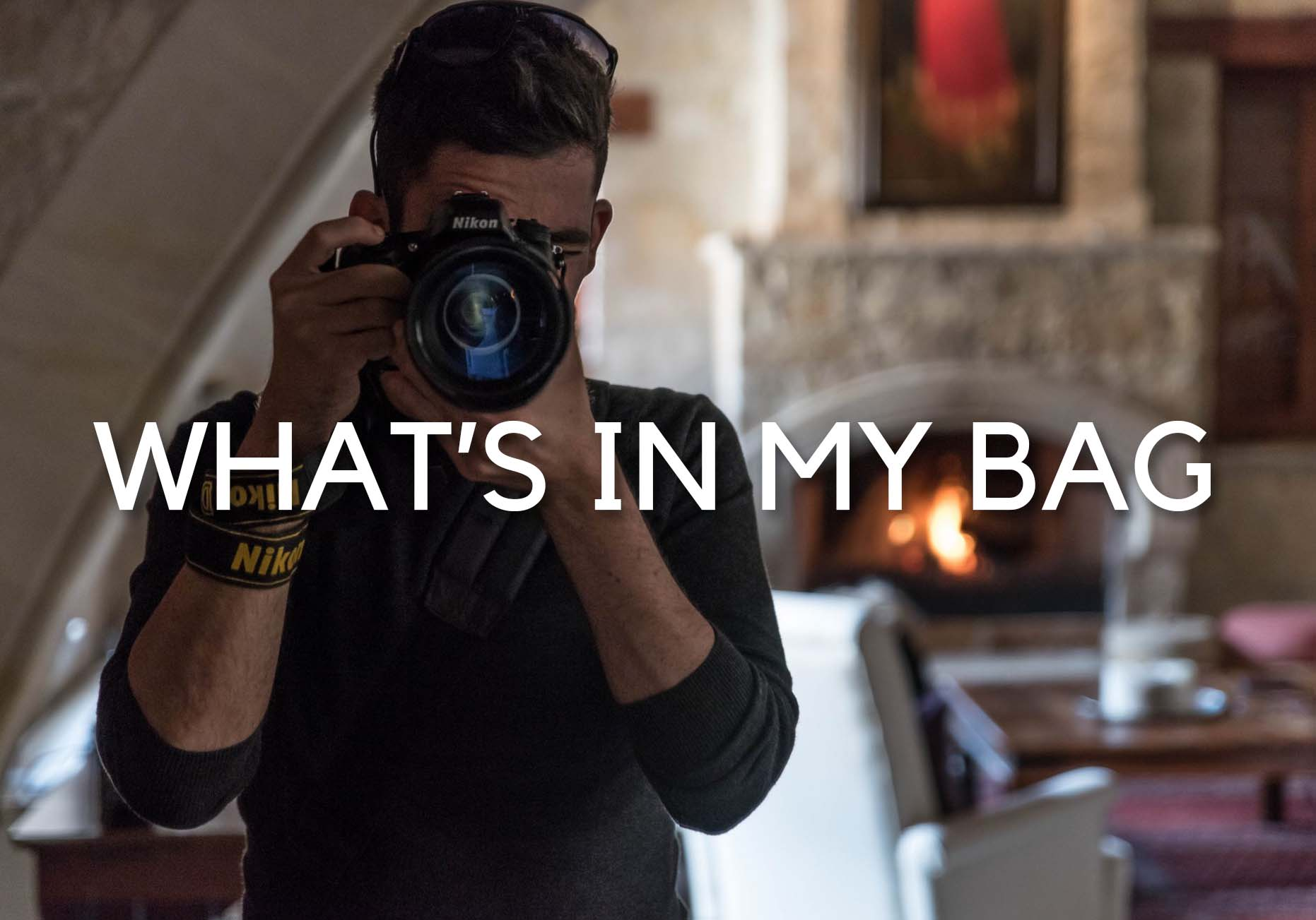WHAT'S IN MY BAG – Photo Equipment