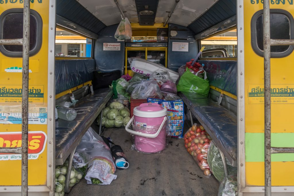 Thai Yellow Bus