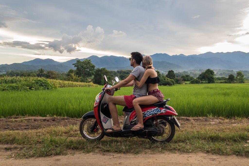 Motorbike renting in Pai